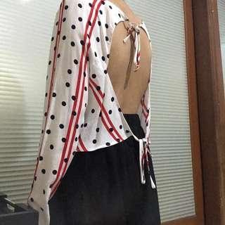 Zara backless