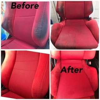 Interior fabric seat Recaro dc5