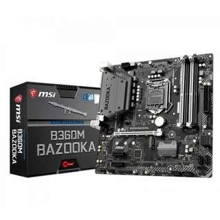 MSI Intel LGA 1151 B360M Bazooka