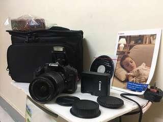 Canon 500D DSLR complete set !!!!
