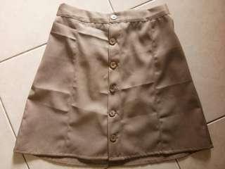 Button Skirt #dibuangsayang