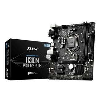 🚚 MSI Intel LGA 1151 H310M Pro-M2/Plus