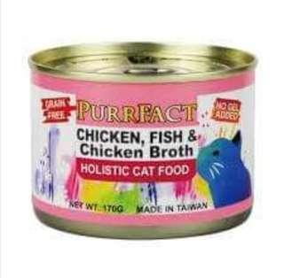 🚚 (8折)波菲特貓咪主食罐【雞肉魚肉、鹿肉雞肉二種】