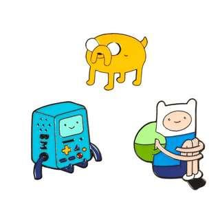 🚚 Adventure Time Enamel Pin Set FREE DELIVERY