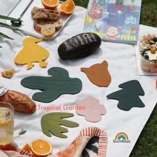 🚚 Tropical Garden coaster and table mat