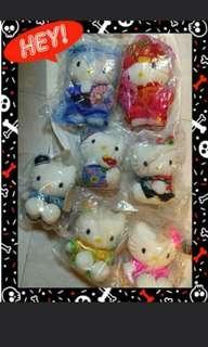 麥當勞 McDonald's Hello Kitty Daniel 毛公仔 Dolls