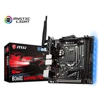 MSI Intel LGA 1151 B360I Gaming Pro AC
