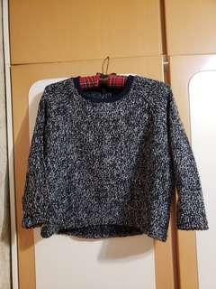 中袖knit top