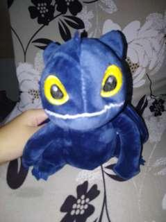🚚 Toothless how to train your dragon plush