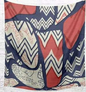 voal printing wakandiah scarf