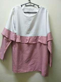 White pink Blouse
