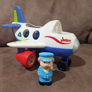 elc happyland fly & go jumbo