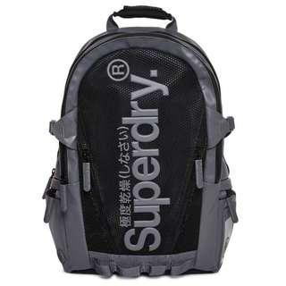 SUPERDRY backpack Mesh Tarp Grey