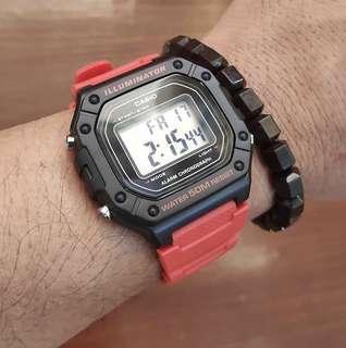 Casio Digital watch red