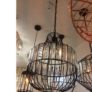 Crstals Hanging Lights