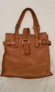 COUNTRY ROAD saddle tote bag