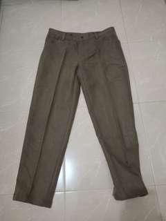 Celana Coklat Jeans