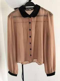 🆓POSTAGE!! Peterpan collared blouse