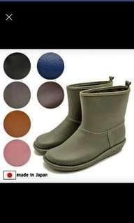 Made in Japan 墨綠色日本製水鞋