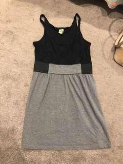 Grey/Black Clubbing Dress