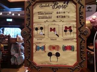 香港迪士尼自定款米妮頭箍