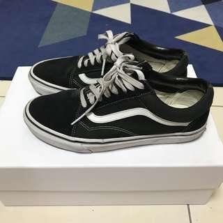 🚚 Vans old Skool 黑白 經典 板鞋