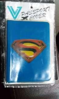 passport holder- superman