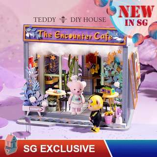 ❤️(SG BEST) ROBOTIME DIY Dollhouse with LED light: Sam's