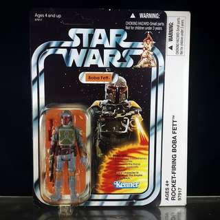 """Hasbro Star Wars VC The Vintage Collection Rocket Firing BOBA FETT 3.75"""" Mail-Away Exclusive (2010) VCP03 Kenner"""