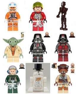 Lego Star Wars Minifigures