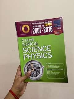 🚚 o level physics <combined> tys