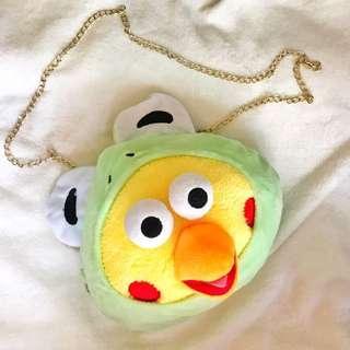 全新 鸚鵡兄弟 青蛙 鏈條包 造形 可愛 惡搞 禮物🎁