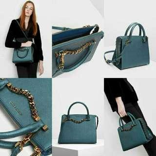 Charles and keith dillac handbag ORI (no nego)