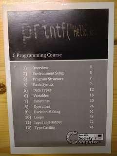 C Programming Notes for Beginners