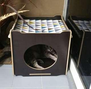 Instock!! Cat Bed with hammock (Black)