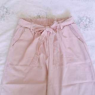 BN Korean Ulzzang Dusty Pink Culottes #DressForSuccess30