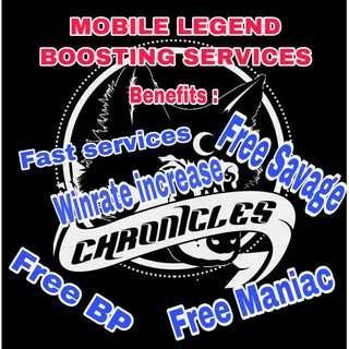 Mobile Legends Boosting