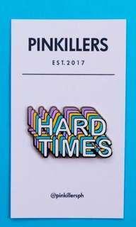 🚚 hard times paramore pin