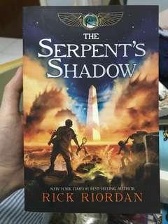 The Serpent's Shadow - Percy Jackson