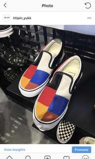 Vans slipon patchwork