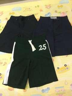 $10 for the whole bundle of 3 shorts