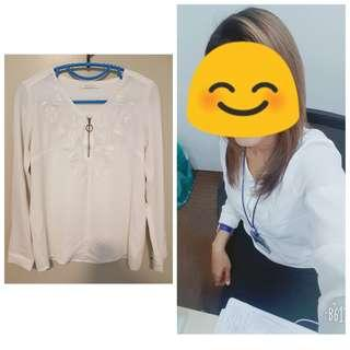 Rope White Blouse