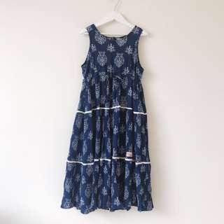 Piccolina Australia Girls floral swing dress size 12 (8-9)