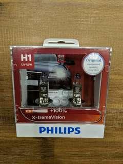 Philips Xtreme Vision H1 Bulbs