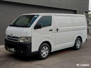 Toyota Hiace For Lease