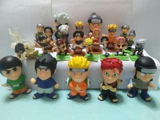 Naruto cute figure(all for $15)