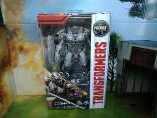 Transformers 5 The Last Knight Deluxe Class Cogman