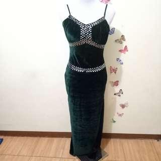Formal Bodycon Gown / Dress With Slit