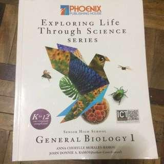 USED General Biology Exploring Life Through Science Book for Grade 12