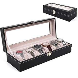 Watch box 6 slots (pu leather)